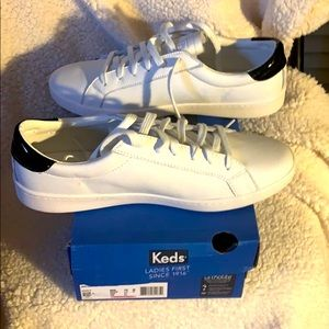Women's Keds Ace leather sneakers 10M  white NWT